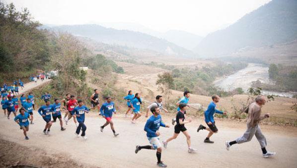 Maraton Internasional Bhutan 7 Hari