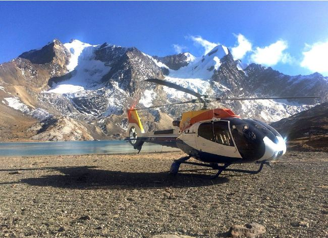 Bhutan Helicopter Tour